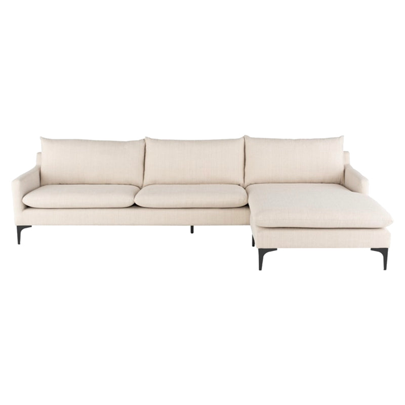 Cooper Sand Sectional - Seating - Black Rooster Maison