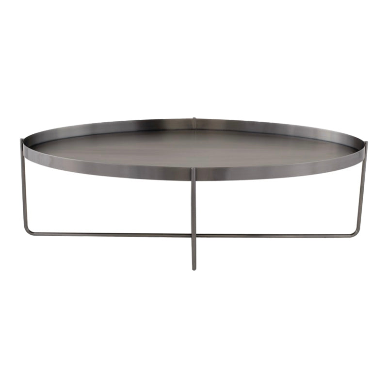 Beau Graphite Coffee Table - Black Rooster Maison