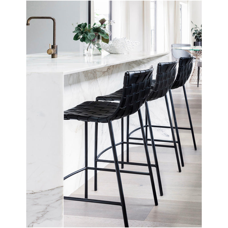 Marlo Stool - Furniture - Black Rooster Maison