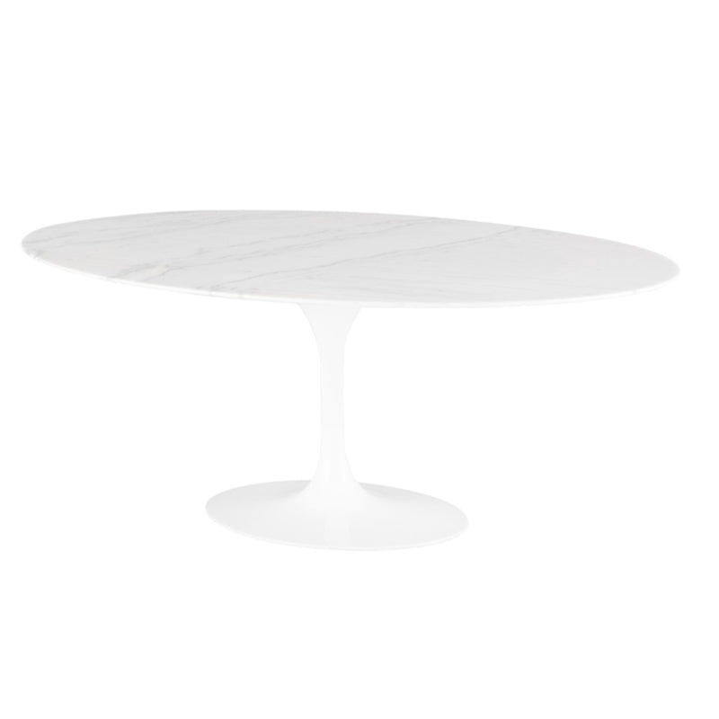 Oval Tulip Dining Table - Tables - Black Rooster Maison
