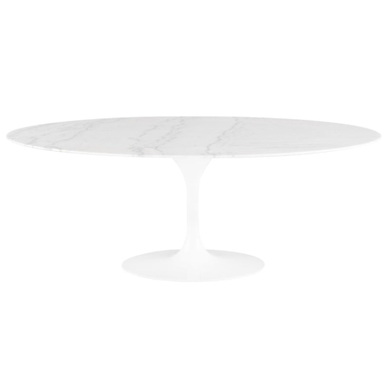 Oval Tulip Dining Table - Black Rooster Maison