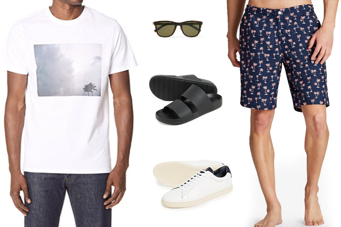 Men: What to Pack For Your Summer Weekend Getaway