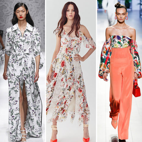 2018 Womens Fashion Trends - Florals