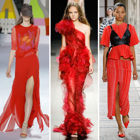 2018 Womens Fashion Trends - Cherry Red