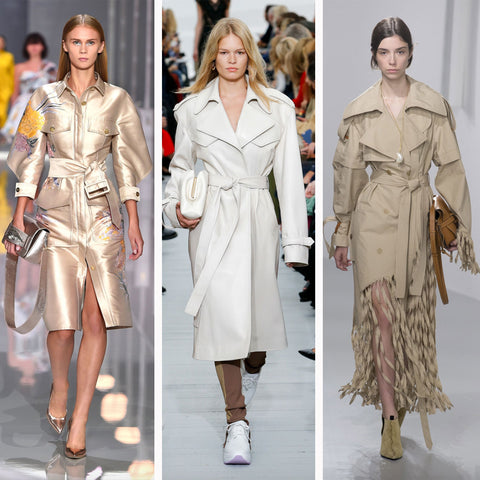 2018 Womens Fashion Trends - The Trench