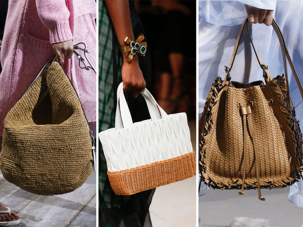 Spring 2018 Straw Bags