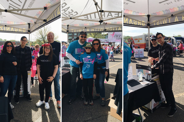 Bend & Hook at 2018 Susan G Komen Race for the Cure