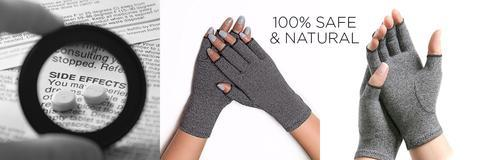 natural compression gloves