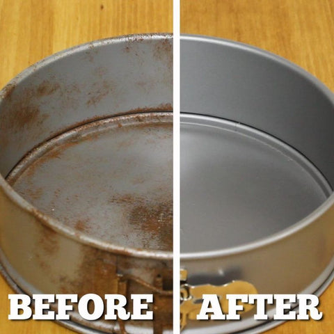 rust remover before and after