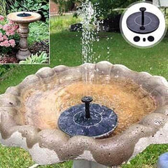 Image of Solar-Powered Easy Bird Fountain Kit - Perfect For Your Garden!