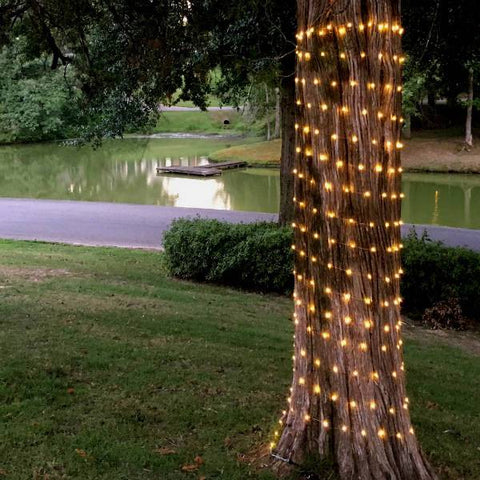 solar powered copper wire light