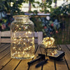 Image of solar powered fairy lights