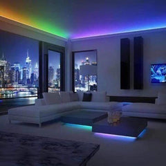 Image of 32ft Color Changing LED Light Strip (Remote Included)