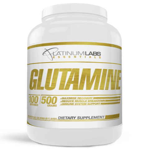 ESSENTIALS GLUTAMINE 500G