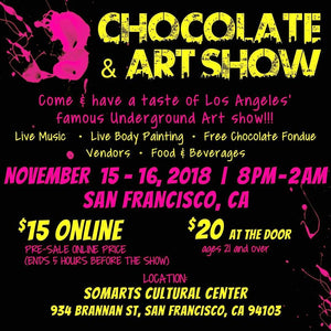 Moby arts is Heading to San Francisco