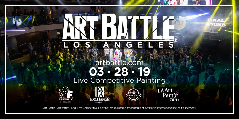 Kicking off a Brand New Season of Art Battle LA!