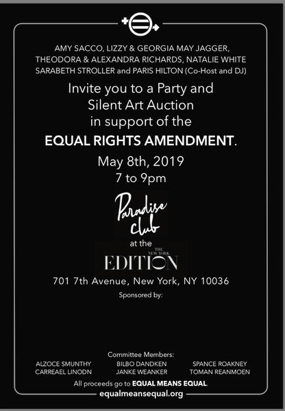 Equal Means Equal: Benefit Auction 2019
