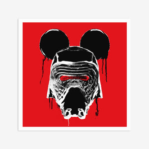 KYLO MOUSE - RED & BLACK