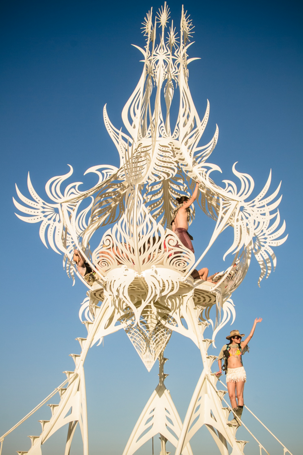 Burning Man Sunrise, Kat