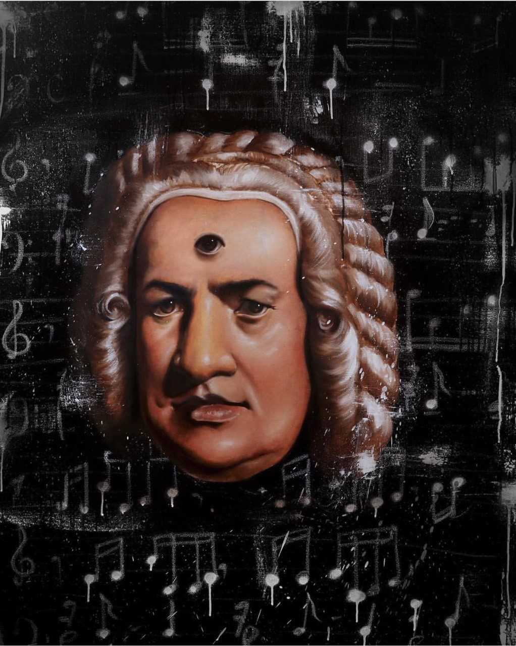 Bach's Third Eye, Isaac Pelayo