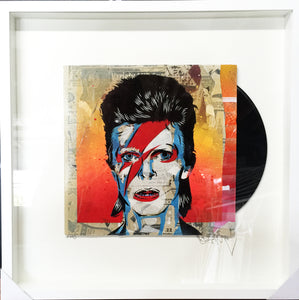 Bowie On An Album Cover, Germizm