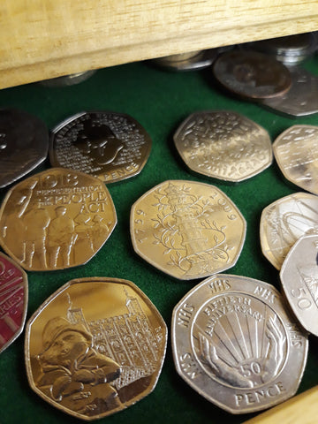 Coin Collecting - Photography by Svetta