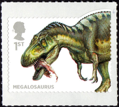 [ Megalosaurus - image reblogged from colnect.com ]