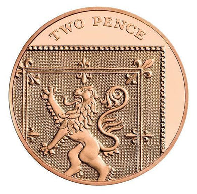 2014 -  2p - Two Pence - Uncirculated - Stamped - TGBCH - COA