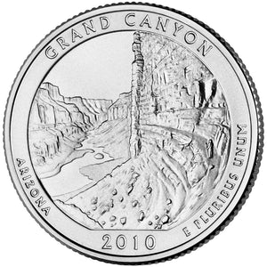USA - Quarters - Park 2010-2019 - Philadelphia Mint Mark