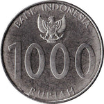 Indonesia 1000 Rupiah Coins Asia Asian
