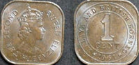 Malaya British Borneo 1 Cent Coin Asia Asian 1c