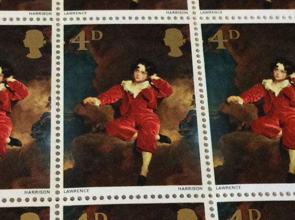 Master Lambton Sir Thomas Lawrence 4d July 10 1967 British Painters MNH