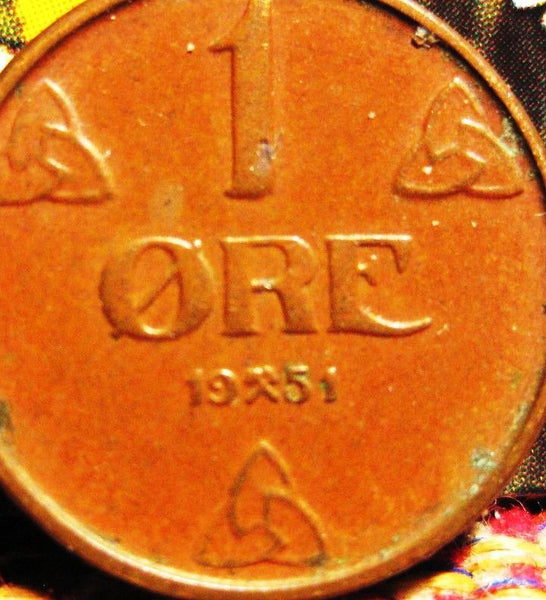 Norway Norwegian 1 One Ore Coins Europe