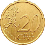 Ireland, 20 Euro Cent Coins 2008, Uncirculated