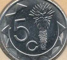 Load image into Gallery viewer, Namibia 5 Five Cent Coins South Africa Afrika African