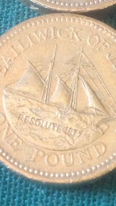 Jersey £1 One Pound Coins