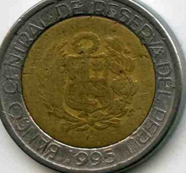 Peru 2 Soles Coins South / Latin America