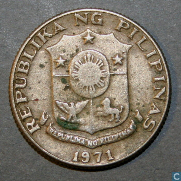 Philippines 10 Ten Sentimos  Asia Asian Coins Philippino