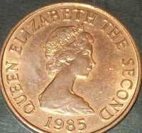 Jersey 1p One Penny Decimal Coins Very Good Condition Queen Elizabeth 2nd