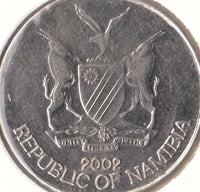 Namibia 10 Ten Cent Coins South Africa Afrika African 10c