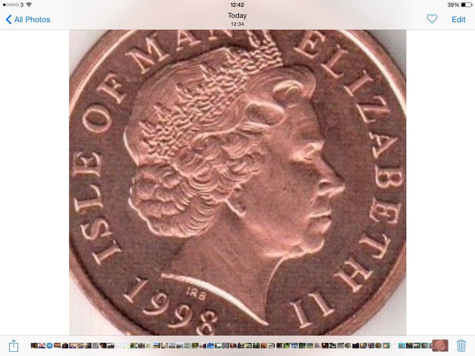 Isle Of Man 2 Pence Very Good Condition IOM 2p Two Pence