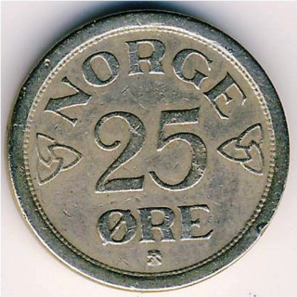 Norway Norwegian 25 Twenty Five Ore Coins  Europe