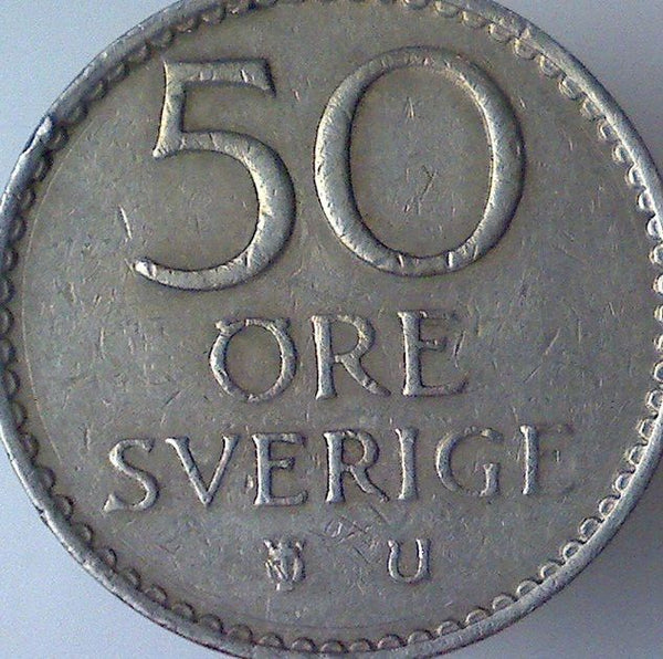 Sweden 50 Fifty Ore Coins