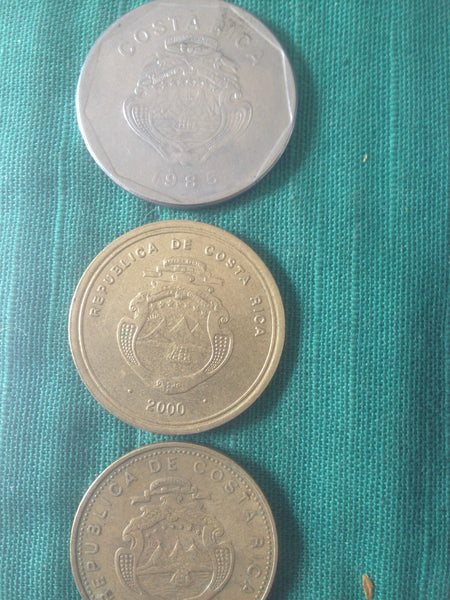 Republic Of Costa Rica Coins