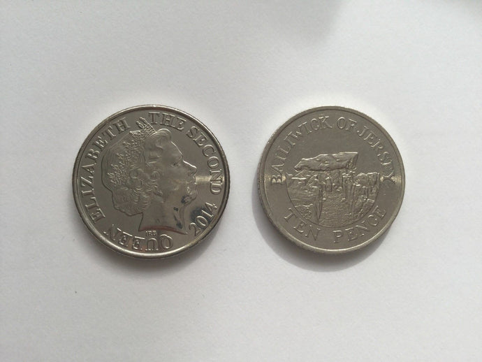 Jersey 10p Ten Pence Channel Islands