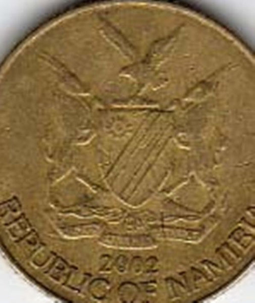 Namibia 1 One Dollar Coins  South Africa Afrika African Dollars
