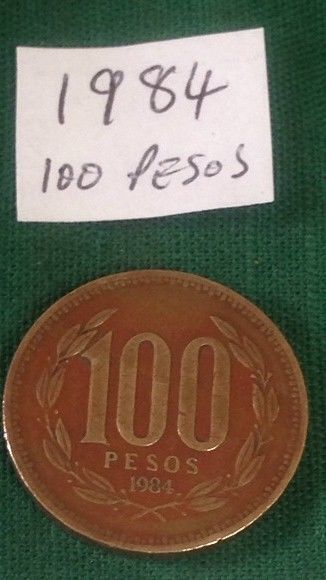 Coins From Chile South America