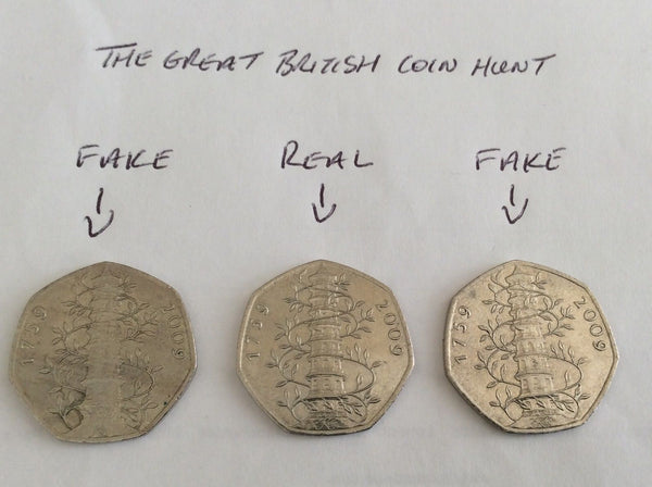 Is Your Rare 50p Coin Kew Gardens Pagoda Real Or Fake - This Guide Tells You