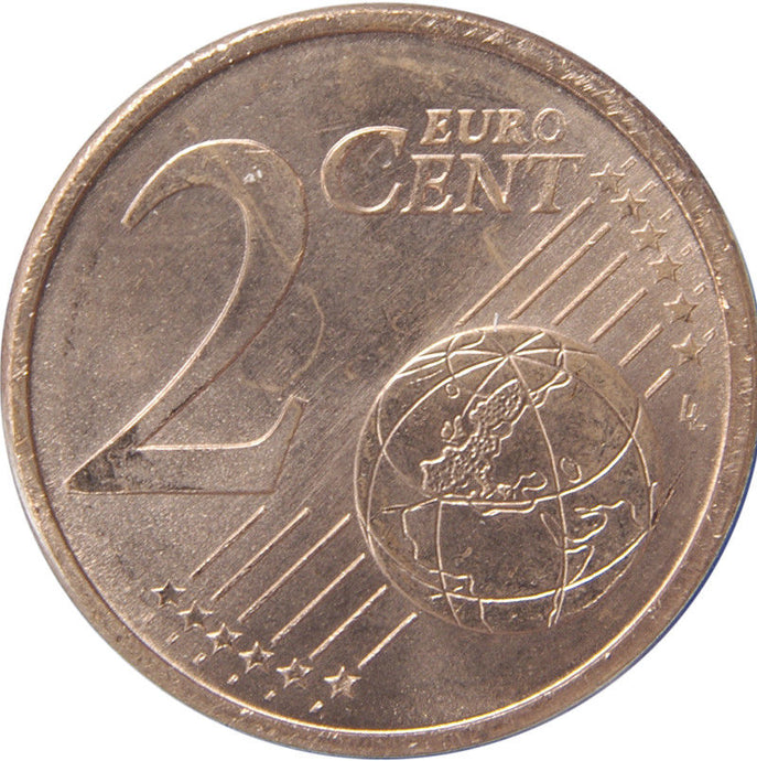 Portugal 2 Two Euro Cent Coins Uncirculated 2007