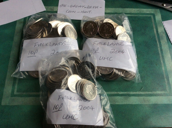 Falkland Islands 10p Ten Pence Coins